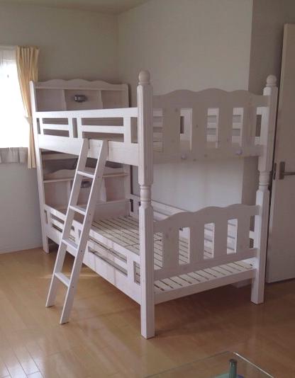 お子様が大喜びの2段ベッド/遠賀郡C様