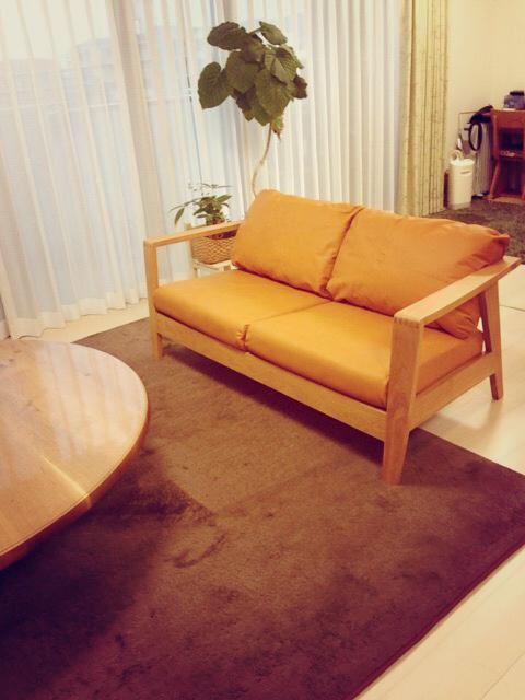 GREEN ROSE MARY 2Pソファの納品/小倉南区中曽根T様