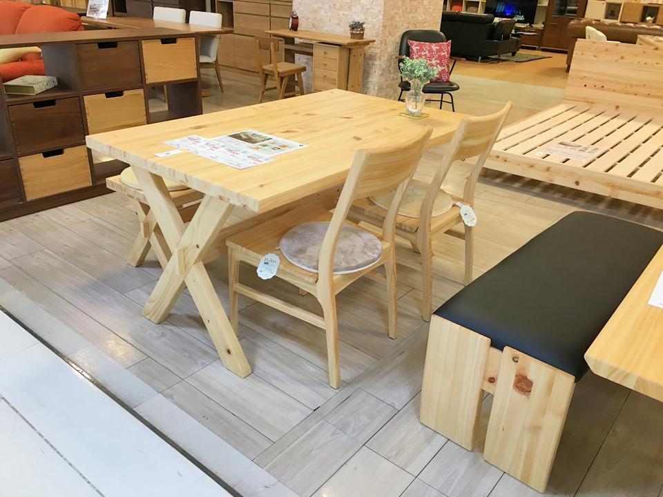 国産ひのきの家具の紹介