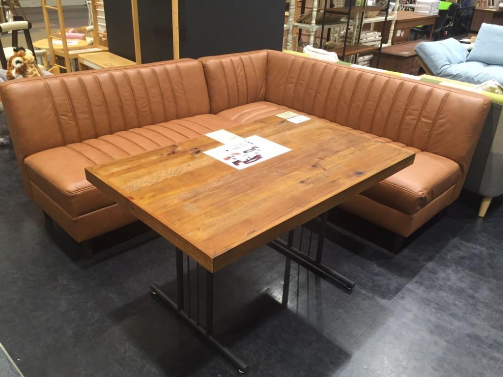 L字ダイニングテーブル&ソファ