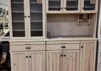 ホワイト食器棚