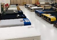 小倉店のベッド展示数は北九州ではかなり豊富です