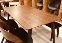 つるっとしてさわり心地が気持ちいいテーブル